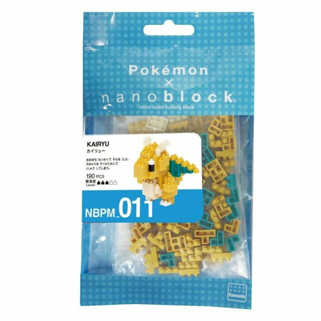 Nanoblock Pokemon Kairyu NBPM/_011 Kawada