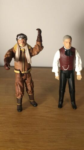 DOCTOR WHO FIGURES BRANNIGAN AND PROFESSOR YAMA