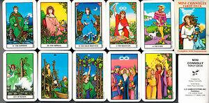 Mini-Connolly-Tarot-Deck-RARITAT-sehr-selten-Kartendeck-Sammler-rar