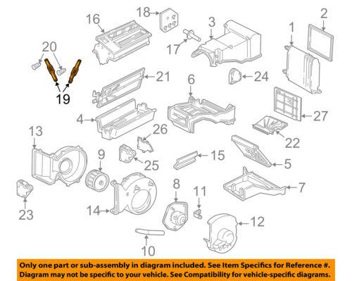 GM OEM Evaporator Heater-Link 52487132