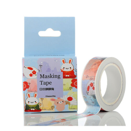 DIY Self Adhesive Cartoon Washi Masking Tape Sticker Craft Scrapbooking Sticker