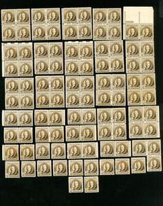 US-Stamps-888-VF-Lot-of-100-OG-NH-Scott-Value-175-00