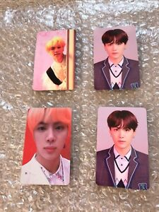 Details about NEW BTS Love Yourself Answer Album Official Photocard Suga  Jin S, E, L Version