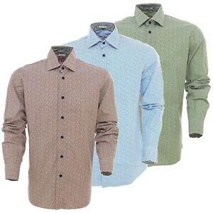 SIGNUM HEMD Freizeithemd Weiß Langarm Slim Fit Kentkragen 151106 Shirt Gr S-2XL