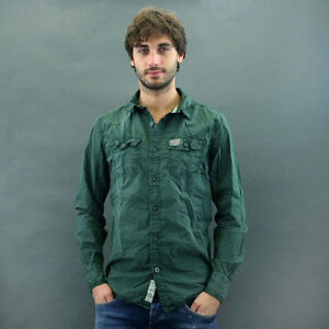 Mod Superdry Washbasket Piombo Camicia Vintage qxYRAz