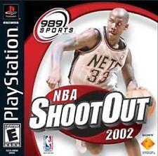 NBA ShootOut 2002 (Sony PlayStation 1, 2001)