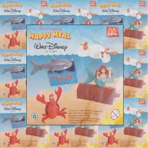 McDonalds-Happy-Meal-Toy-1998-Little-Mermaid-Movie-Figure-Toys-Various