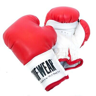 *NEW* Kids Boxing MMA Gloves 8 oz Red Tuf Wear Stocking Stuffer