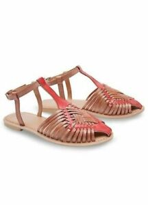 3beb74856bcf6 Joe Browns Leather Sandals Cool And Casual Tan Brown - RRP £50 ...