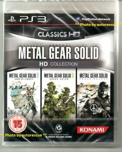 Zzz-METAL-GEAR-SOLID-HD-COLLECTION-034-NUOVO-amp-Sealed-039-PS-3