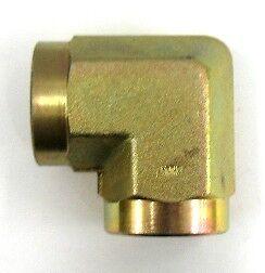 AF C3509-06-06 - 3/8 Female Pipe (.675''-18) x 3/8 Female Pipe (.675''-18) 90°