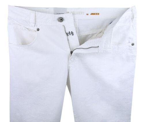 blanc Stretch Droite Homme gabardine Joker Jeans coupe Freddy Blanc SYnC7n