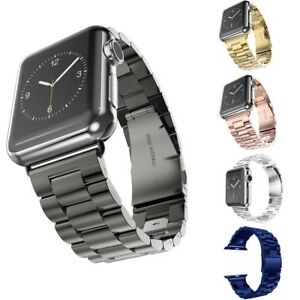 316L-Stainless-Steel-Watch-Band-Wrist-Strap-For-iWatch-Apple-Watch-5-4-3-2-1-US