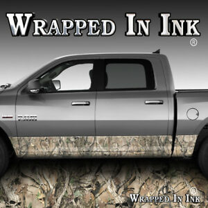 Camo-Rocker-Panel-Graphic-Obliteration-Skull-Decal-Wrap-Truck-Side-Camouflage
