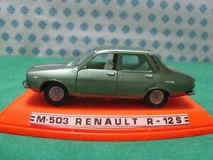 Vintage-RENAULT-12-S-1-43-Auto-Pilen-M-503