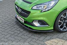 Sonderaktion Spoilerschwert Frontspoilerlippe Cuplippe aus ABS Opel Corsa E OPC