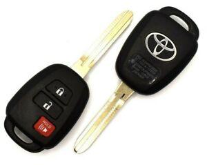 1 OEM Keyless Entry Toyota Tacoma 15-19 Remote Head Key Fob H Chip HYQ12BDP