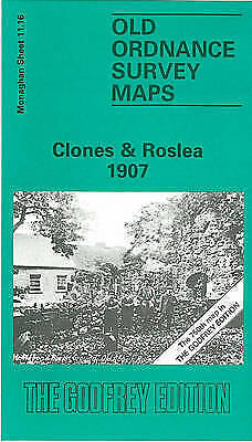 OLD ORDNANCE SURVEY MAP Clones & Roslea 1907: Co Monaghan Sheet 11.16