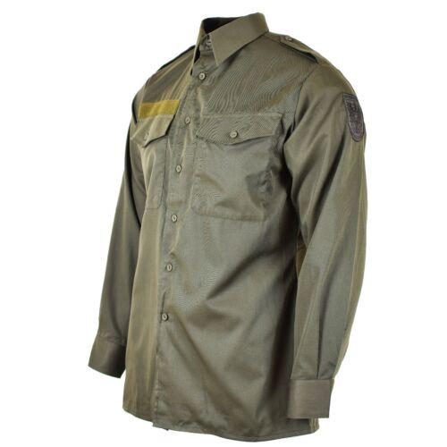 Genuine Austrian army shirt M65 O.D Military combat long sleeve Olive BDU NEW