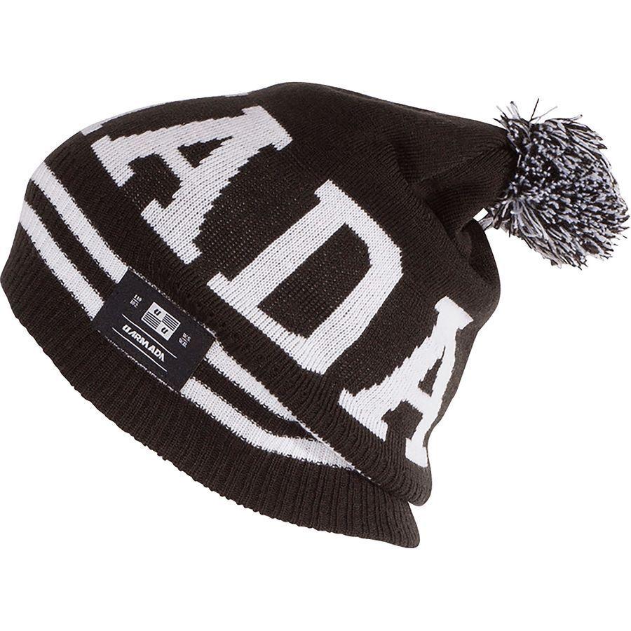 6d64454e501 Armada Watcher Rib Knit Winter Snow Board   Ski Pom Beanie Hat Cap Mens One  Size for sale online