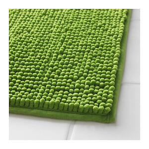 Details About Ikea Toftbo Anti Slip Microfibre Bath Mat Bathmat Bathroom Rug 60x90cm In Green