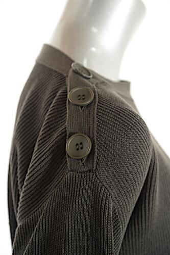 Sprig léger en coton avec 100 pima Nyc Nwt boutons à coton Sz Pull en M côtelé Bela 5pFxqHW