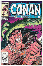 Conan the Barbarian #155 (Marvel 1984 vf+ 8.5) Michael Fleisher & John Buscema