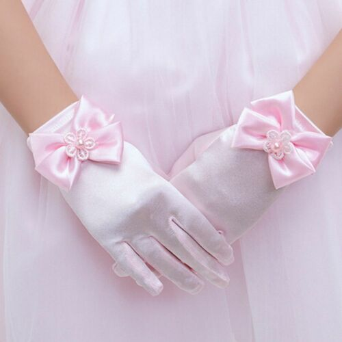 Dress Gloves Brief Paragraph Lady Gloves Princess Gloves Bowknot Gloves