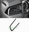 Carbon Fiber Inner Left Air Vent Outlet Frame Trim For Toyota Camry 2018 2019