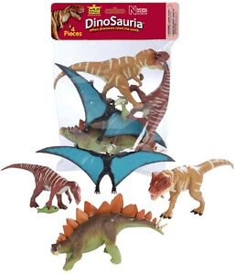 NEW Toy DINOSAUR DINO Model Figurine - 4 Piece Polybag 66838 Collection T-Rex