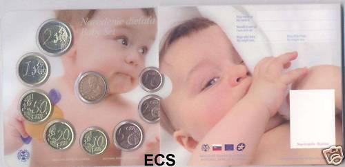 Slowakei offiz. Baby-KMS 2009, sehr selten, Auflage nur 3000