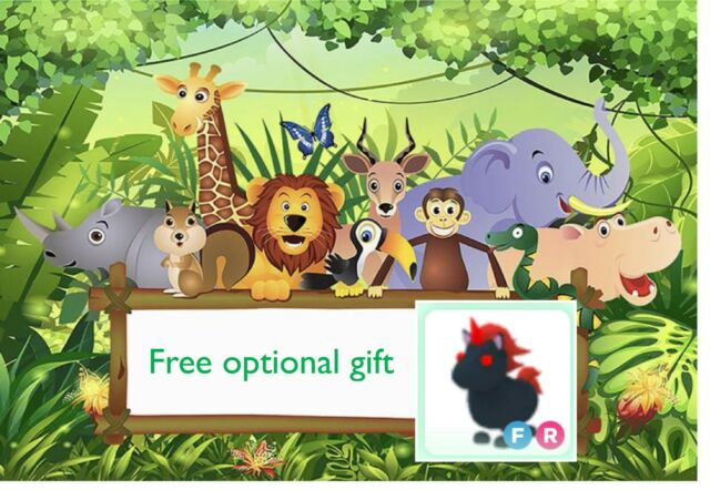 Custom Picture With Free Roblox Adopt Me Evil Unicorn FR ...
