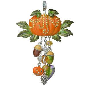 Kirks-Folly-Autumn-Fest-Pumpkin-Magnetic-Enhancer-Silvertone