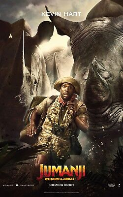 Welcome to the Jungle Movie Poster Jumanji