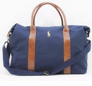 0eaf86f701 Image is loading RALPH-LAUREN-PARFUMS-POLO-PONY-WEEKEND-TRAVEL-HOLDALL-