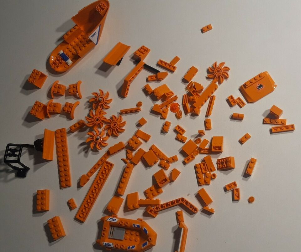 Lego andet, Orange