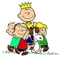Peanuts Charlie Brown & Gang Iron On T Shirt Pillowcase Fabric Transfer 101