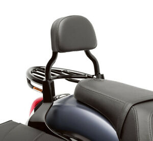 Details about New OEM Kawasaki Vulcan 900 Custom Black Passenger Backrest -  K53020-377B