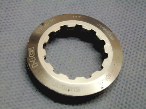 Kassettenabschlußring Shimano Kassetten-Abschlussring Aluminium 11 Zähne