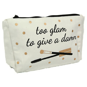 d5df11cd83871 Details about Chloé  Too Glam...  Wash Bag. Make Up Toiletries Cool Funky  Chic Great Gift Her