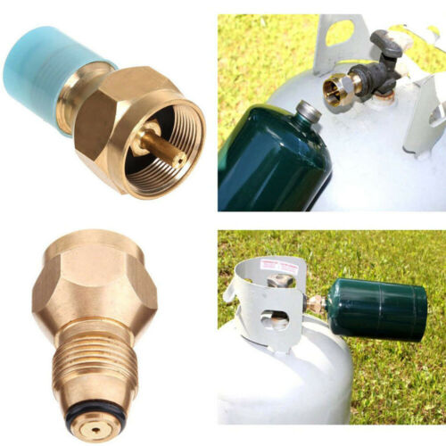 Propane Refill Adapter Gas Cylinder Tank Coupler Heater For Camping Cooking BBQ~