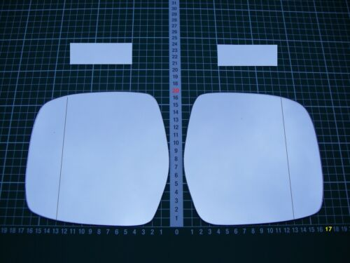Rétroviseur Extérieur Miroir De Verre Ersatzglas Toyota Land Cruiser 2 à partir de 1996-02 Li O R ASPH
