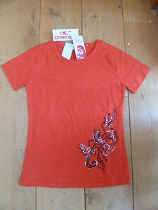 O/'NEILL Womens Printed T-shirt Top Size Small BNWT