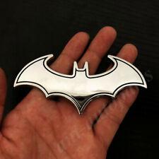 Big 3d Metal Chrome Batman Dark Knight Mask Car Emblem Badge Decal Sticker