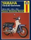 Yamaha T50 and 80 Townmate Owners Workshop Manual by Pete Shoemark (Paperback, 1988)