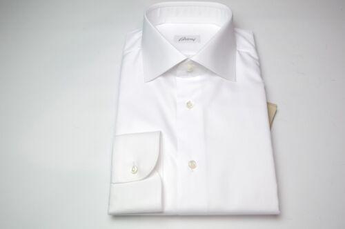 Brioni overhemd 5 Euma51 100katoenmaat 17 Us Nieuw 44 White VqLGUpzSM