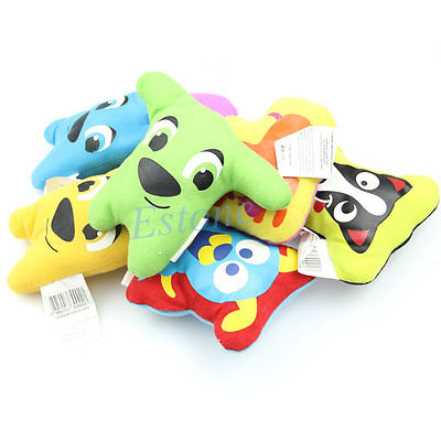 Dog Toy Pet Puppy Chew Squeaker Squeaky Plush Sound Cute Cartoon Style Funny Toy