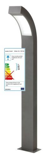 LED Luminaires de Jardin Lampe Lumière Lampadaire Eclairage Extérieur 230V