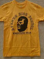 187 Inc Men's T-shirt avenue Hight School -- Yellow/black , Size S
