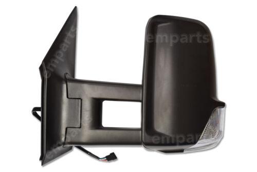 Espejo De Ala Puerta VW Passat Completo Manual Negro Largo Brazo N//S 2006 2018